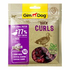 Ласощі для собак GimDog Superfood Meat Curls 55 г (качка) - masterzoo.ua
