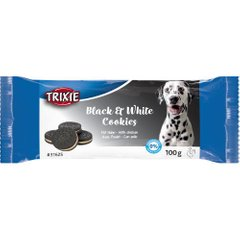 Лакомство для собак Trixie печенье Black & White Cookies, 100 г (курица) - masterzoo.ua