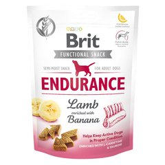 Ласощі для собак Brit Functional Snack Endurance 150 г (для активних) - masterzoo.ua