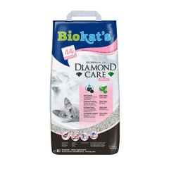 Наполнитель туалета для кошек Biokat's Diamond Fresh 8 л (бентонитовый)