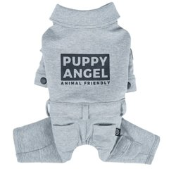 Комбинезон для собак Puppy Angel «Jumpsuit» S (серый) - masterzoo.ua