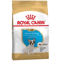 Сухой корм для щенков и молодых собак породы французский бульдог Royal Canin French Bulldog Adult 1 кг (домашняя птица) - masterzoo.ua