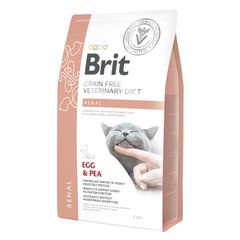 Сухой корм для кошек, при заболеваниях почек Brit GF Veterinary Diet Renal 2 кг (яйцо) - masterzoo.ua