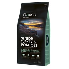 Сухой корм для пожилых собак всех пород Profine Senior Turkey 15 кг (индейка) - masterzoo.ua