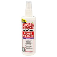 Спрей-притягувач для собак Nature's Miracle «House Breaking Potty Training Spray» 236 мл (для привчання до туалету) - masterzoo.ua